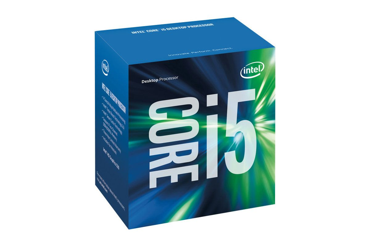 Intel Core i5 7500 / 3.4 GHz Kaby Lake Processor