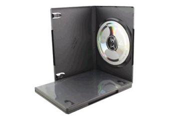 DELTACO cd-boks til lagring af DVD'er