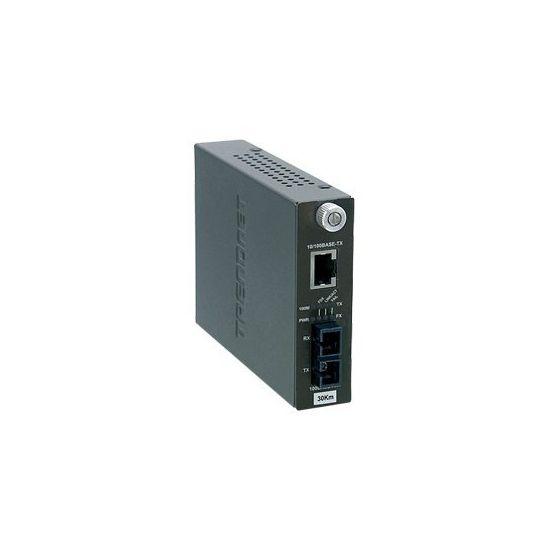 TRENDnet TFC-110S30i - fibermedieomformer - 10Mb LAN, 100Mb LAN