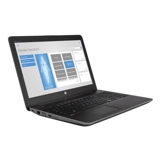 "HP ZBook 15 G4 Mobile Workstation - 15.6"" - Core i7 7820HQ - 16 GB RAM - 512 GB SSD - Dansk"