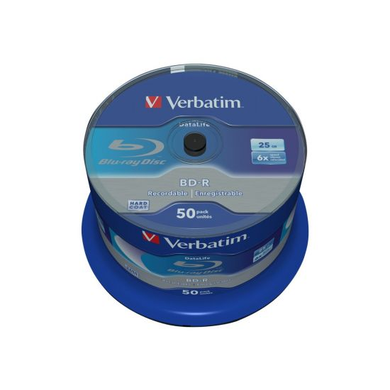 Verbatim DataLife - BD-R x 50 - 25 GB - lagringsmedie