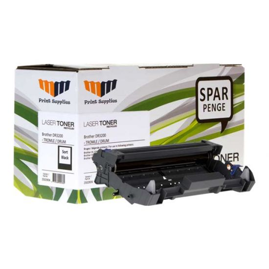 MM Print Supplies 25029DK - sort - Genproduceret - tromlepatron (alternative for: Brother DR3200)