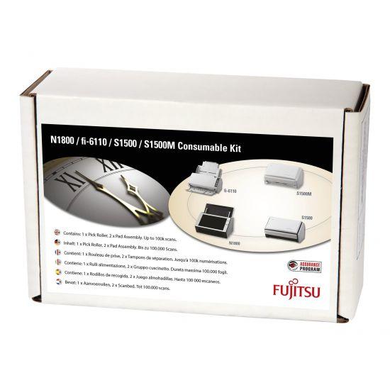 Fujitsu Consumable Kit - pakke med forbrugsartikler for scanner