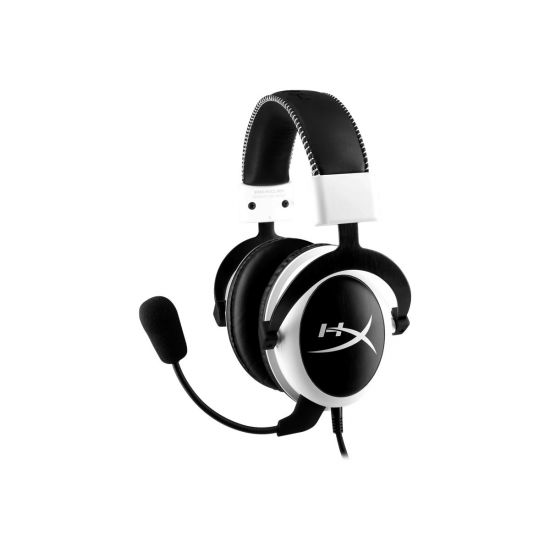 Kingston HyperX Cloud - Sort/hvid Gaming Headset