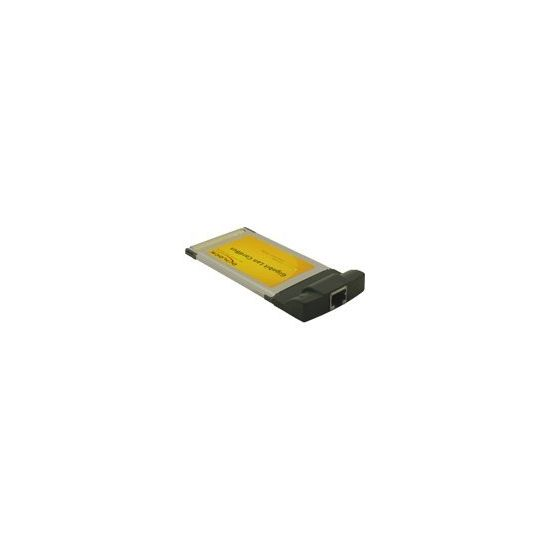DeLock Gigabit LAN CardBus Card - netværksadapter