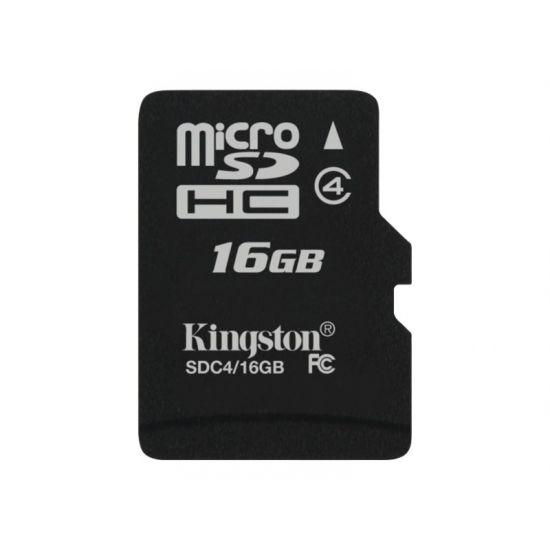 Kingston - flashhukommelseskort - 16 GB - microSDHC