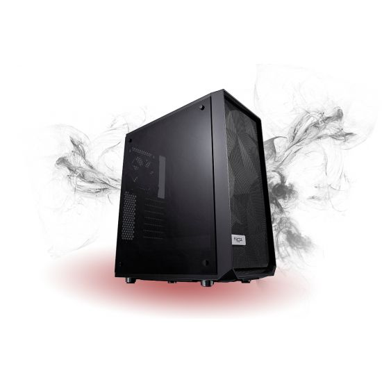 Føniks Hydra II Færdigsamlet Gamer Computer - AMD Ryzen 5 1500X - 8GB DDR4 - Nvidia GTX 1060 6GB - 240GB SSD + 1TB HDD - Windows 10