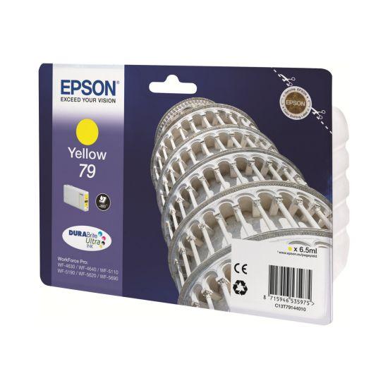 Epson 79 - gul - original - blækpatron
