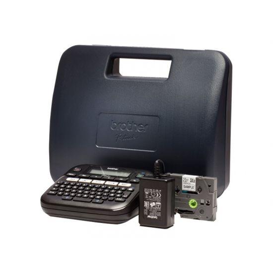 Brother P-Touch PT-D210VP - etikettemaskine - monokrom - termo transfer