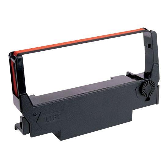 Epson ERC 38BR - 1 - sort, rød - print-bånd