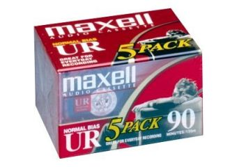 Maxell kassette