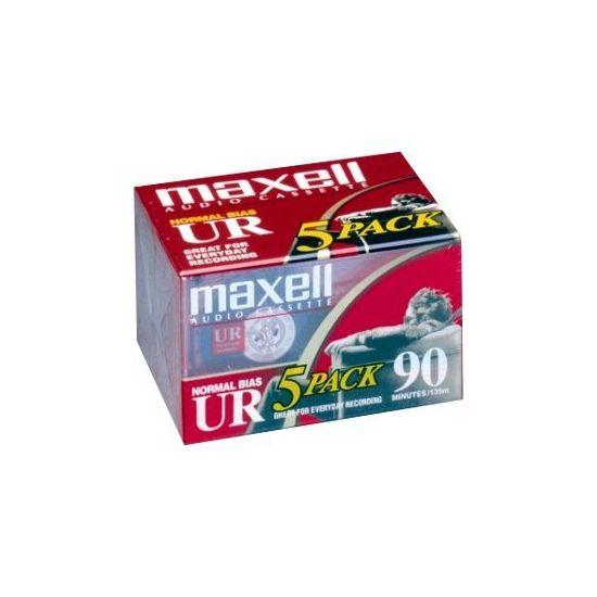 Maxell kassette - 5 x 90min