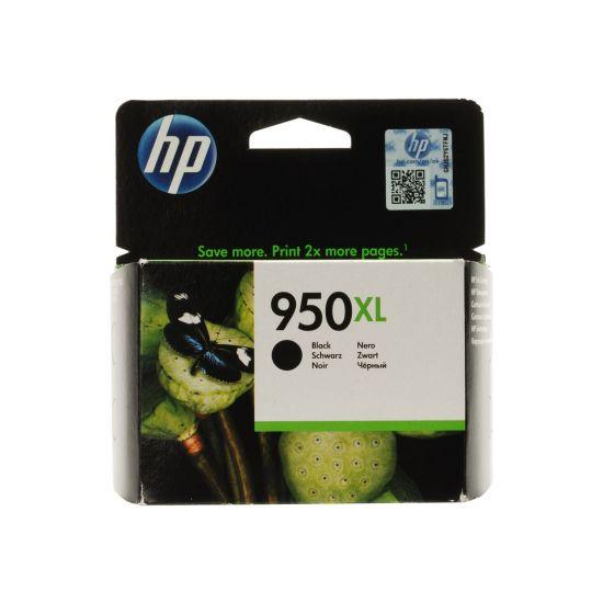 HP 950XL - Højtydende - sort - original - Officejet - blækpatron