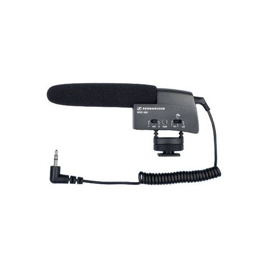 Sennheiser MKE 400 - mikrofon
