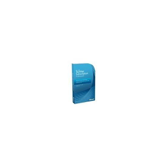 Microsoft TechNet Subscription Professional 2010 - bokspakke (1 år) - 1 bruger
