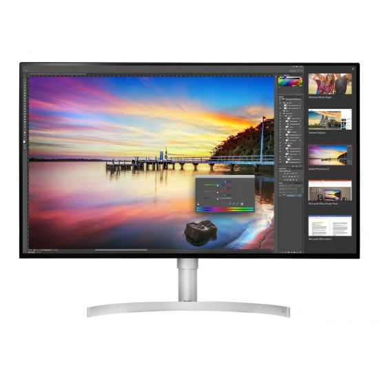 "LG 32UK950-W &#45 WLED 32"" AMD FreeSync AH-IPS 5ms - 4K UHD 3840x2160 ved 60Hz"