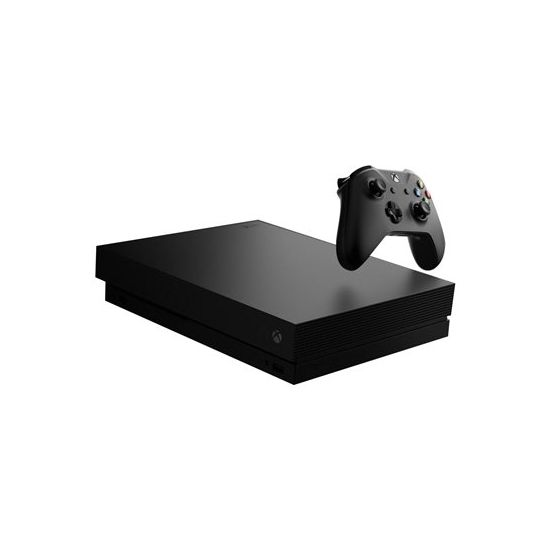 Microsoft Xbox One X - Gold Rush Special Edition - Battlefield V Bundle - Spilkonsol - 1 TB HDD - sort