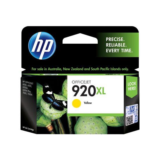 HP 920XL - Højtydende - gul - original - blækpatron