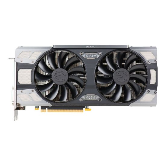 EVGA GeForce GTX 1070 FTW Gaming ACX 3.0 &#45 NVIDIA GTX1070 &#45 8GB GDDR5 - PCI Express 3.0 x16