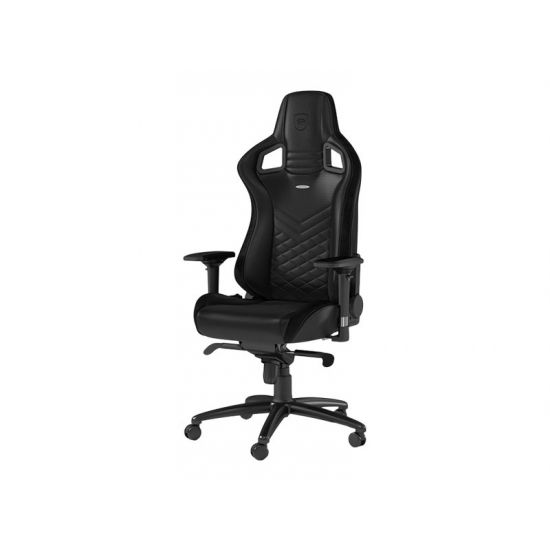 noblechairs EPIC Series Sort Kunstlæder Gamer Stol