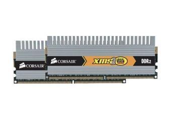 Corsair XMS2 DHX &#45 4GB: 2x2GB &#45 DDR2 &#45 800MHz &#45 DIMM 240-pin
