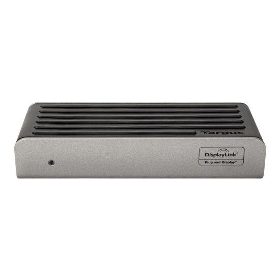 Targus Dual Video Universal Docking Station - dockingstation - DVI, HDMI, DP