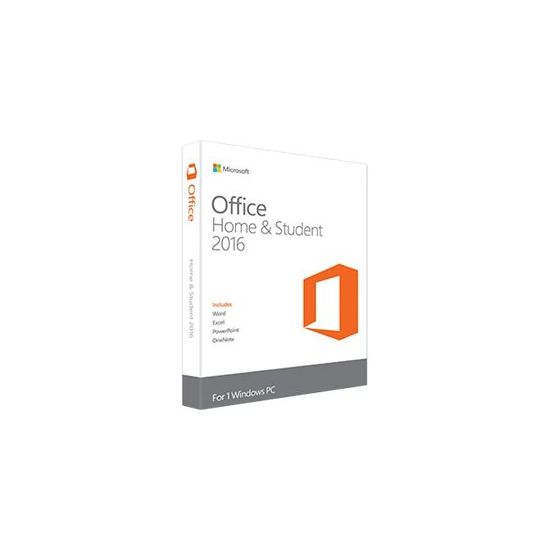 Microsoft Office Home and Student 2016 - bokspakke - 1 PC