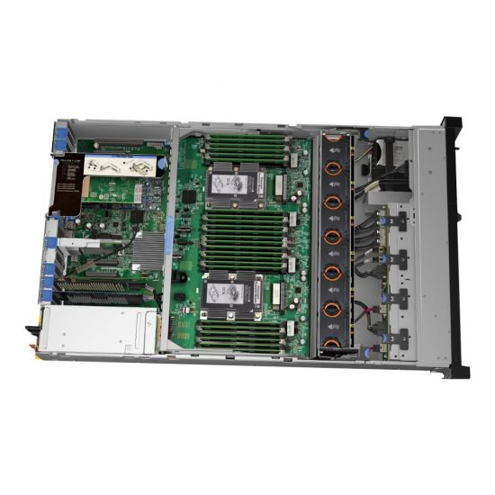 Lenovo ThinkSystem SR850 - rack-monterbar - Xeon Gold 6126 2.6 GHz - 128 GB - 0 GB