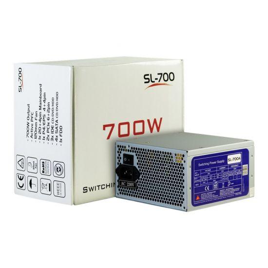Inter-Tech SL-700 &#45 strømforsyning &#45 700W