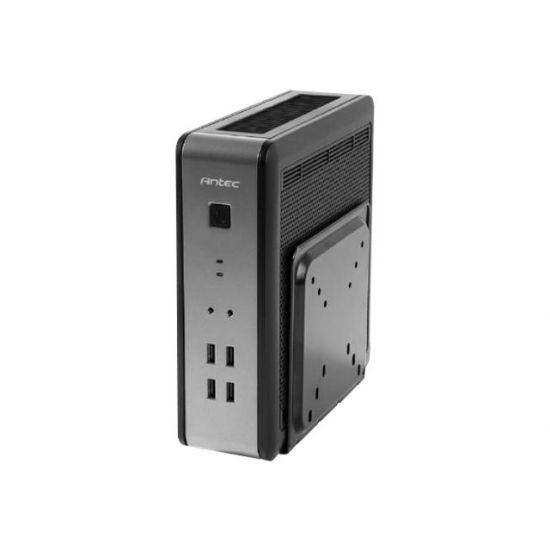 Antec ISK110 VESA U3 - desktopmodel slimline - mini ITX