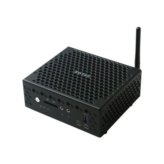 ZOTAC ZBOX nano CI527 - C Series - mini PC - Core i3 7100U 2.4 GHz - 0 MB - 0 GB