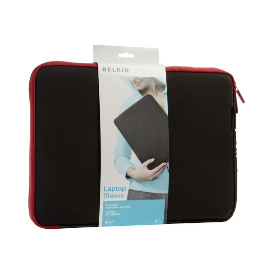 "Belkin Neoprene Sleeve for Notebooks up to 15.6"" - hylster til notebook"