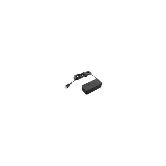 Lenovo ThinkPad 45W AC Adapter (Slim Tip) - strømforsyningsadapter - 45 Watt