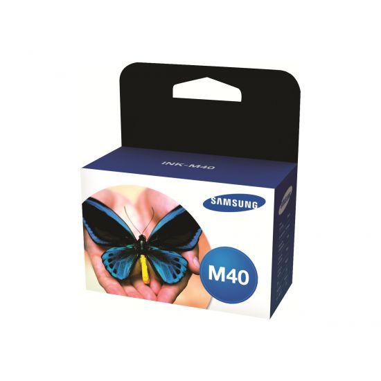 Samsung INK-M40 - sort - original - blækpatron