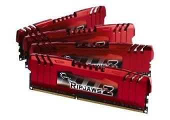 G.Skill Ripjaws Z Series &#45 8GB: 4x2GB &#45 DDR3 &#45 1600MHz &#45 DIMM 240-pin