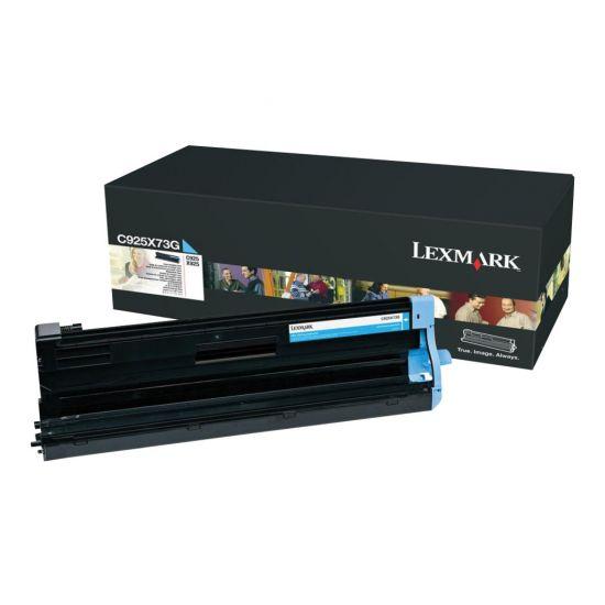 Lexmark - cyan - original - printer-billedenhed - LCCP