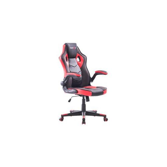 Gear4U Gambit Gamer stol Sort/Rød