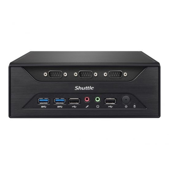 Shuttle XPC slim XC60J - Slim-PC - Celeron J3355 2 GHz - 0 GB - 0 GB