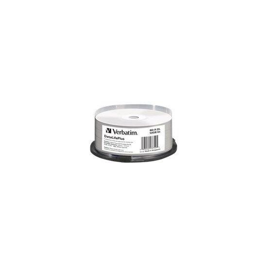 Verbatim DataLifePlus - BD-R x 25 - 50 GB - lagringsmedie