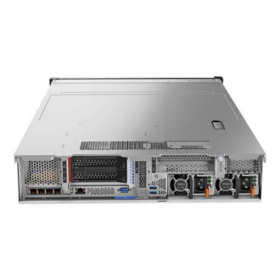 Lenovo ThinkSystem SR650 - rack-monterbar - Xeon Bronze 3104 1.7 GHz - 8 GB - 0 GB