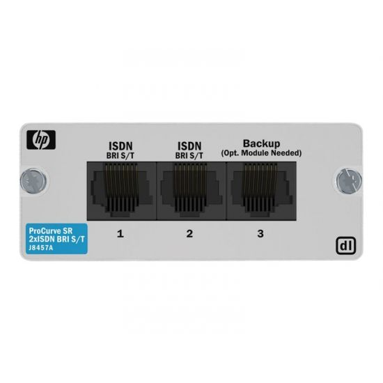 HPE 2xISDN BRI S/T Module - ISDN-terminaladapter - BRI ST