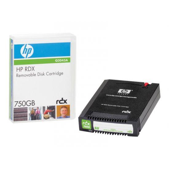 HPE RDX - RDX x 1 - 750 GB - lagringsmedie