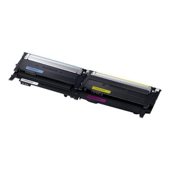 Samsung CLT-P404C Toner Rainbow Kit - 4 pakker - sort, gul, cyan, magenta - original - tonerpatron