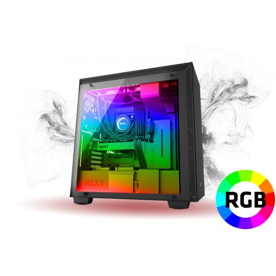 Føniks The Behemoth Færdigsamlet Gamer Computer - Intel i7 9700K - Vandkøling - 32GB DDR4 - RTX 2080 8GB OC - 500GB NVMe + 2TB HDD - Windows 10 - RGB