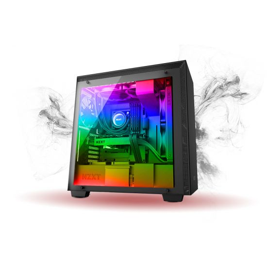 Føniks The Behemoth Færdigsamlet Gamer Computer - Intel i7 8700K - Vandkøling - 16GB DDR4 - Nvidia GTX 1080Ti 11GB - 500GB NVMe SSD + 2TB HDD - Windows 10 - RGB lys