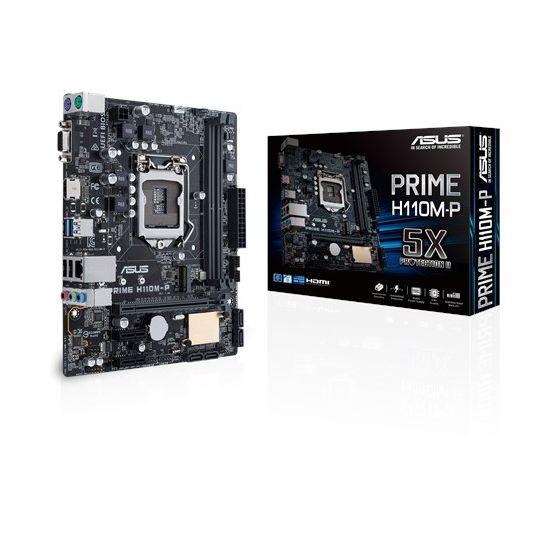 ASUS PRIME H110M-P - bundkort - micro-ATX - LGA1151 Socket - H110