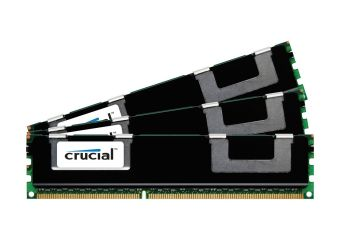 Crucial &#45 24GB: 3x8GB &#45 DDR3 &#45 1866MHz &#45 DIMM 240-pin