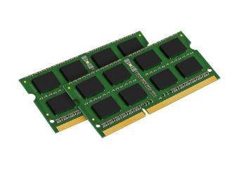 Kingston ValueRAM &#45 8GB: 2x4GB &#45 DDR3 &#45 1333MHz &#45 SO DIMM 204-PIN