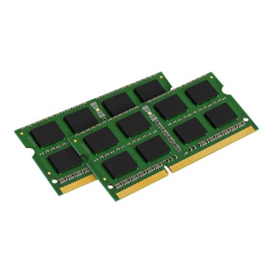 Kingston ValueRAM &#45 8GB: 2x4GB &#45 DDR3 &#45 1333MHz &#45 SO DIMM 204-PIN - CL9