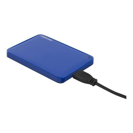 Toshiba Canvio Connect II &#45 1TB - USB 3.0 - 10 pin Micro-USB Type B